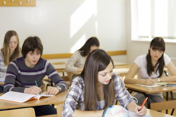 Prüfungssimulation für Sekundarschüler