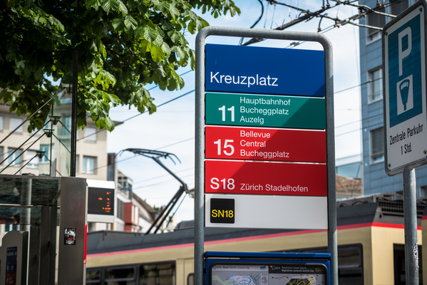 Anfahrt Zürich Stadelhofen