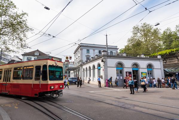 Strasse Zürich Stadelhofen
